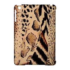 Animal Fabric Patterns Apple Ipad Mini Hardshell Case (compatible With Smart Cover) by BangZart