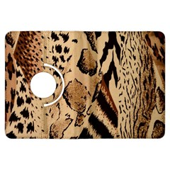 Animal Fabric Patterns Kindle Fire Hdx Flip 360 Case by BangZart