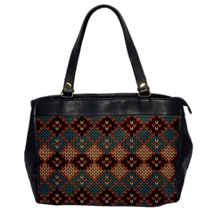 Knitted Pattern Office Handbags by BangZart
