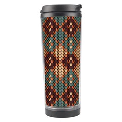 Knitted Pattern Travel Tumbler by BangZart