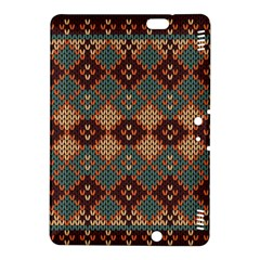 Knitted Pattern Kindle Fire Hdx 8 9  Hardshell Case by BangZart