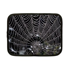 Spider Web Wallpaper 14 Netbook Case (small)  by BangZart