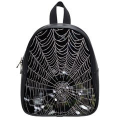 Spider Web Wallpaper 14 School Bags (small)  by BangZart