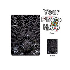 Spider Web Wallpaper 14 Playing Cards 54 (mini)