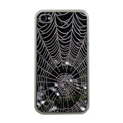 Spider Web Wallpaper 14 Apple Iphone 4 Case (clear)