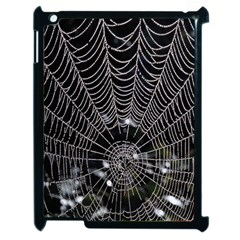 Spider Web Wallpaper 14 Apple Ipad 2 Case (black)