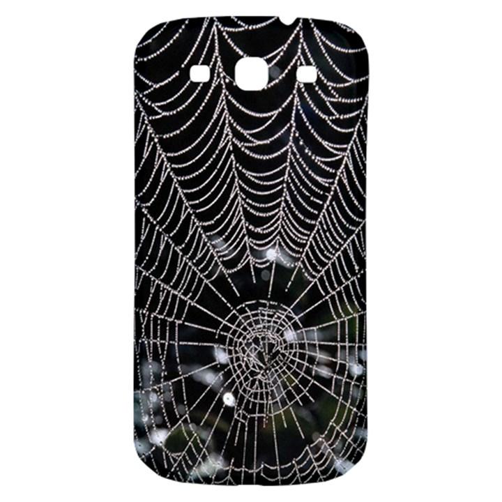 Spider Web Wallpaper 14 Samsung Galaxy S3 S III Classic Hardshell Back Case