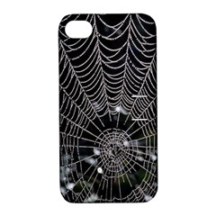 Spider Web Wallpaper 14 Apple Iphone 4/4s Hardshell Case With Stand