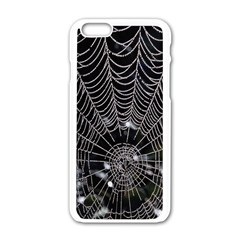 Spider Web Wallpaper 14 Apple Iphone 6/6s White Enamel Case by BangZart