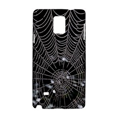 Spider Web Wallpaper 14 Samsung Galaxy Note 4 Hardshell Case by BangZart
