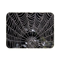 Spider Web Wallpaper 14 Double Sided Flano Blanket (mini)  by BangZart