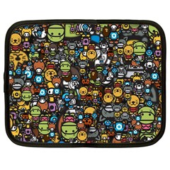 Many Funny Animals Netbook Case (large) by BangZart