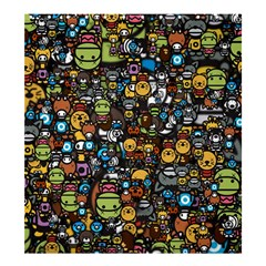 Many Funny Animals Shower Curtain 66  X 72  (large)  by BangZart