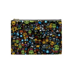 Many Funny Animals Cosmetic Bag (medium)  by BangZart