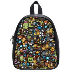 Many Funny Animals School Bags (small)  by BangZart