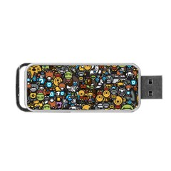 Many Funny Animals Portable Usb Flash (two Sides) by BangZart