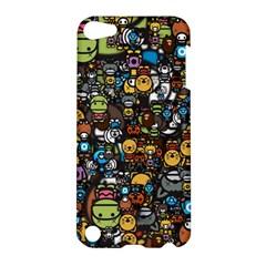 Many Funny Animals Apple Ipod Touch 5 Hardshell Case