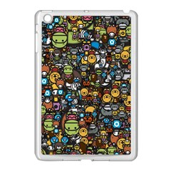 Many Funny Animals Apple Ipad Mini Case (white)