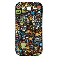 Many Funny Animals Samsung Galaxy S3 S Iii Classic Hardshell Back Case by BangZart