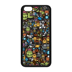 Many Funny Animals Apple Iphone 5c Seamless Case (black) by BangZart