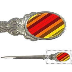 Abstract Bright Stripes Letter Openers by BangZart