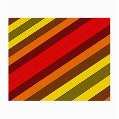 Abstract Bright Stripes Small Glasses Cloth (2 Side) by BangZart