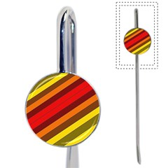 Abstract Bright Stripes Book Mark
