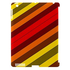 Abstract Bright Stripes Apple Ipad 3/4 Hardshell Case (compatible With Smart Cover) by BangZart