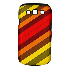 Abstract Bright Stripes Samsung Galaxy S Iii Classic Hardshell Case (pc+silicone)
