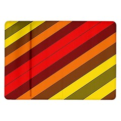 Abstract Bright Stripes Samsung Galaxy Tab 10 1  P7500 Flip Case