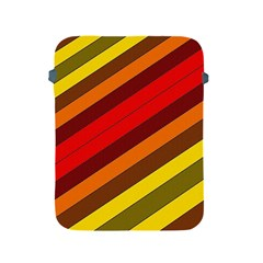 Abstract Bright Stripes Apple Ipad 2/3/4 Protective Soft Cases by BangZart