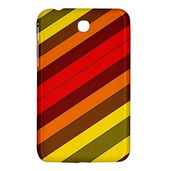 Abstract Bright Stripes Samsung Galaxy Tab 3 (7 ) P3200 Hardshell Case  by BangZart