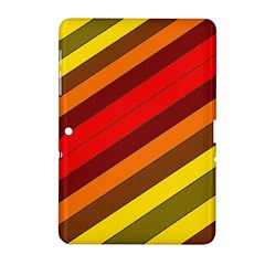 Abstract Bright Stripes Samsung Galaxy Tab 2 (10 1 ) P5100 Hardshell Case