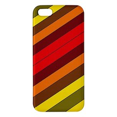Abstract Bright Stripes Iphone 5s/ Se Premium Hardshell Case by BangZart