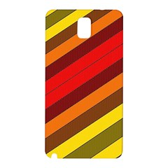 Abstract Bright Stripes Samsung Galaxy Note 3 N9005 Hardshell Back Case