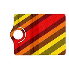 Abstract Bright Stripes Kindle Fire Hd (2013) Flip 360 Case by BangZart