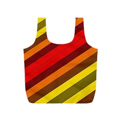 Abstract Bright Stripes Full Print Recycle Bags (s)