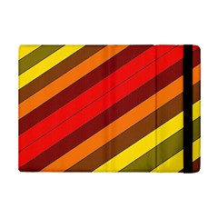 Abstract Bright Stripes Ipad Mini 2 Flip Cases by BangZart