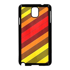 Abstract Bright Stripes Samsung Galaxy Note 3 Neo Hardshell Case (black)