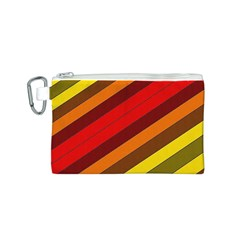 Abstract Bright Stripes Canvas Cosmetic Bag (s) by BangZart