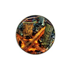 Hdri City Hat Clip Ball Marker (4 Pack) by BangZart