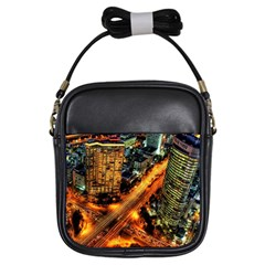 Hdri City Girls Sling Bags by BangZart