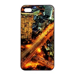 Hdri City Apple Iphone 4/4s Seamless Case (black)