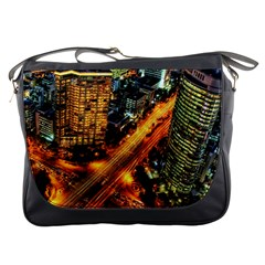 Hdri City Messenger Bags by BangZart