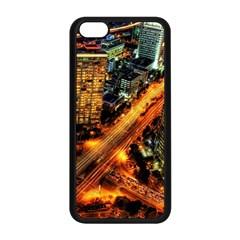Hdri City Apple Iphone 5c Seamless Case (black) by BangZart