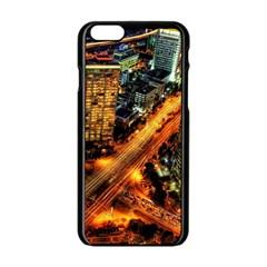 Hdri City Apple Iphone 6/6s Black Enamel Case