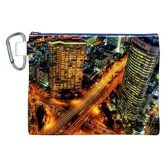 Hdri City Canvas Cosmetic Bag (xxl) by BangZart