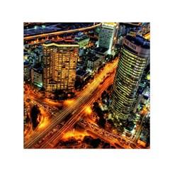 Hdri City Small Satin Scarf (square)