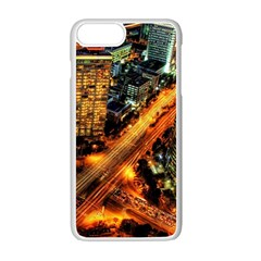 Hdri City Apple Iphone 7 Plus White Seamless Case by BangZart