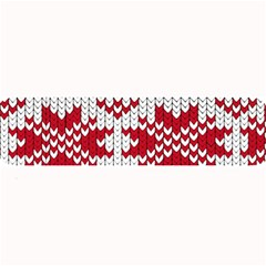 Crimson Knitting Pattern Background Vector Large Bar Mats